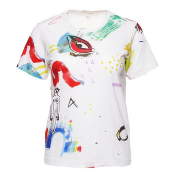 Collage Print Classic Tee - Marc Jacobs