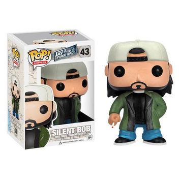 Jay and Silent Bob Silent Bob FUNKO Pop Vinyl