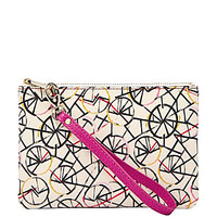 Fossil Bicycle-Print Wristlet - Bright Multi