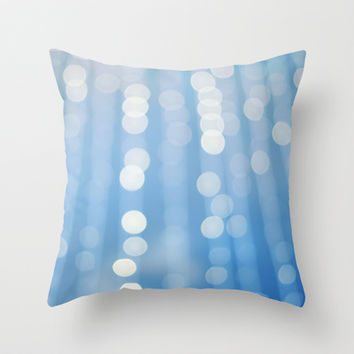 Under The Sea Throw Pillow by Bree Madden
