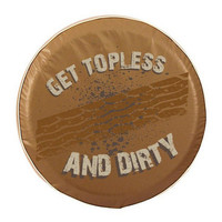 Holland Bar Stool Get Topless & Dirty Tire Cover w/ Treads