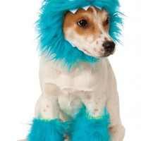 Blue Monster Dog Costume Set