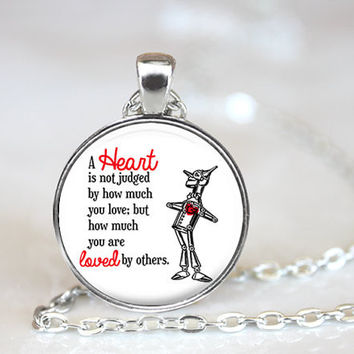 Wizard of Oz Quote Necklace