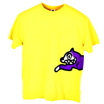 BBC Billionaire Boys Club ICE CREAM Men's Grapic T Shirt Sz M YELLOW