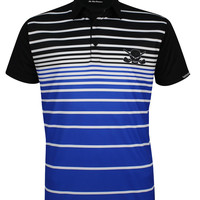 Fade Men's ProCool Golf Shirt (Blue)