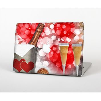 The Magical Unfocused Red Hearts and Wine Skin for the Apple MacBook Air 13""