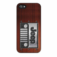 Jeep Embossed Steel iPhone 5s Case
