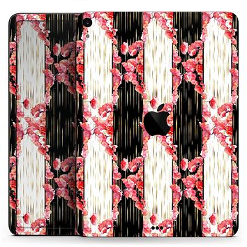 """Karamfila Watercolo Poppies V6 - Full Body Skin Decal for the Apple iPad Pro 12.9"""", 11"""", 10.5"""", 9.7"""", Air or Mini (All Models Available)"""