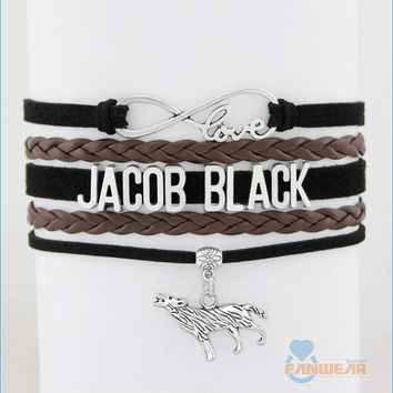 JACOB BLACK Infinity Love Bracelet