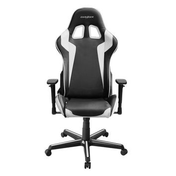 DXRacer OH/FH00/NW Black & White Formula Series Gaming Chair