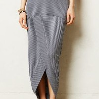 Pembroke Maxi Skirt by Bordeaux Blue Motif