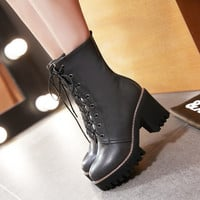 Hot Deal On Sale Winter Korean Plus Size Boots [6366198788]