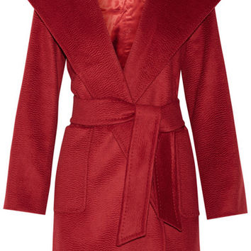 Max Mara - Hooded camel hair coat