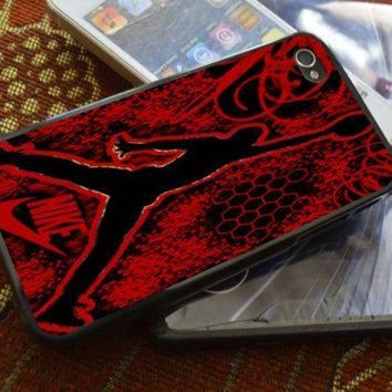 CREYUG7 Air Jordan Logo iPhone 4 4S iPhone 5 5S 5C and Samsung Galaxy S2 S3 S4 Case