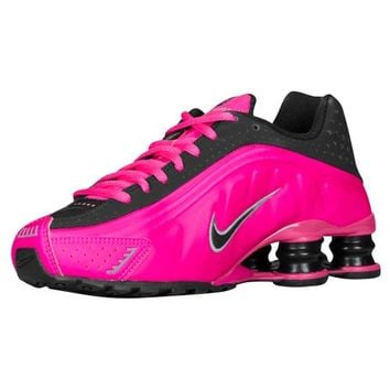 Nike Shox R4 - Girls' Grade School at Foot Locker