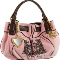 Juicy Couture Scotty Bling Medium Freestyle Satchel,Nardles/Depp,one size