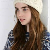 Cozy Cable Knit Earwarmer