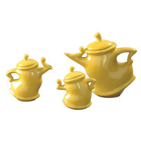 Canary Whimsical Tea Pots