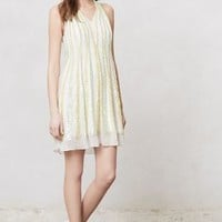 Shimmer Channel Dress by Ranna Gill White M Dresses
