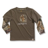 Infant/Toddler Boys' Layered Camo T-Shirt