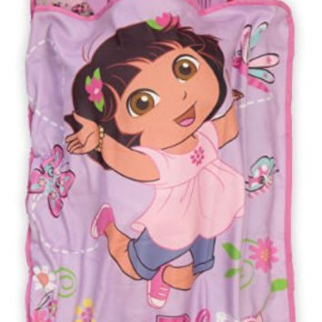 Dora The Explorer Toddler Nap Mat, Pink 21x46