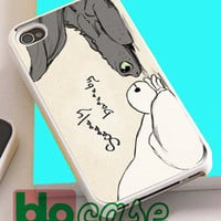 Baymax and Toothless Disney Big Hero 6 For Iphone 4/4s, iPhone 5/5s, iPhone 5C, iphone 6, and iPhone 6 Plus Case