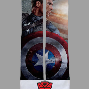 Captain America - Marvel Comics - Custom Socks - Socktimus Prime
