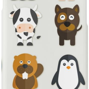'Funny Animals Collection' iPhone Case/Skin by cybermall