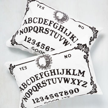 Play the Magic Word Pillowcase Set | Mod Retro Vintage Decor Accessories | ModCloth.com