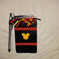 Mickey Mouse Notebook - Mickey Party Favor - Mickey Mouse Fish Extender