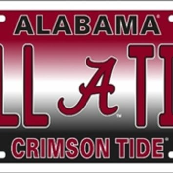 Alabama Roll Tide License Plate | Roll Tide License Plate | Alabama Crimson Tide License Plate