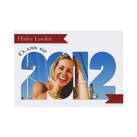 Class of 2012  |  Maroon Graduation Announcement from Zazzle.com