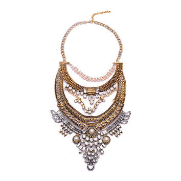Donna Bohemian Statement Necklace