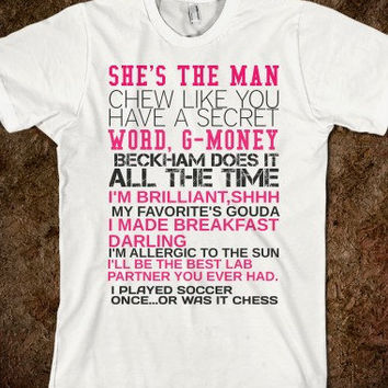 She's The Man Amanda Bynes Movie T-Shirt
