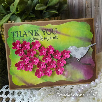 best handmade cards with flowers products on wanelo