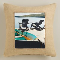 Adirondack Photo Throw Pillow - World Market
