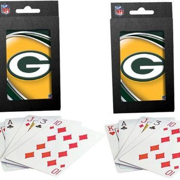Green Bay Packers Twin Pack of Playing Cards