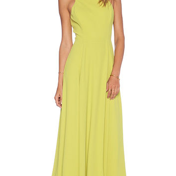 NBD x Naven Twins Out Shine Maxi Dress in Yellow