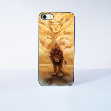 King of Lion Simba  Plastic Case Cover for Apple iPhone 5s 5 6 Plus 6 4 4s  5c