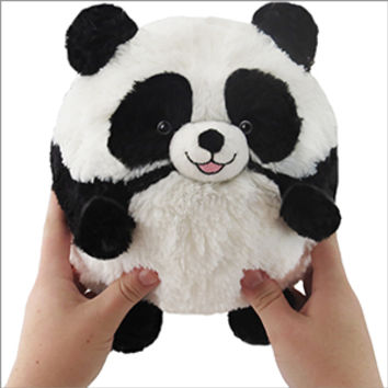 Mini Squishable Happy Panda: An Adorable Fuzzy Plush to Snurfle and Squeeze!