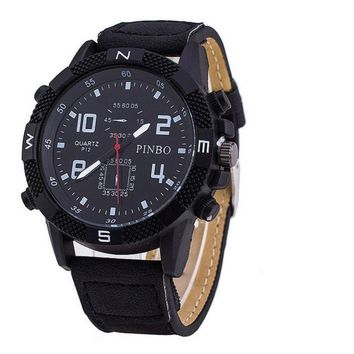 Watch Army Soldier Military Canvas Strap Fabric For Men