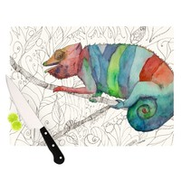 "Catherine Holcombe ""Chameleon Fall"" Cutting Board"