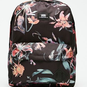 Vans Old Skool II Floral School Backpack from PacSun | Hannah