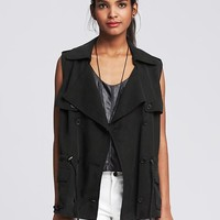 Banana Republic Womens Drapey Vest