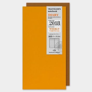 TRAVELER'S Company 2018 Weekly Vertical Planner