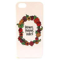 Radiate Positive Vibes Phone Case