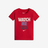 "The Nike ""Watch Me Win"" Infant Boys' T-shirt."