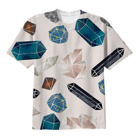 So into this design on Fab! Gemstones Tee #FabForAll
