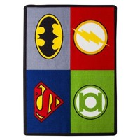 """Justice League Accent Rug - 39x56"""""""