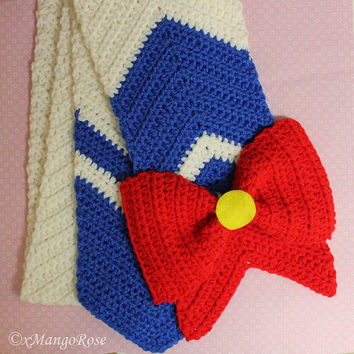 Sailor Moon Scarf Pattern (Inspired by the Anime)